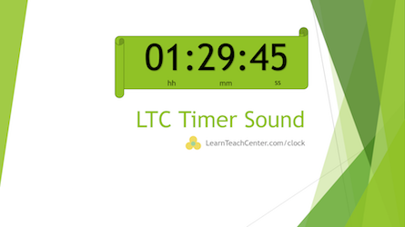 timer for powerpoint insert timer into powerpoint slides ltc clock