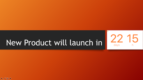 Countdown to Date Time for PowerPoint for Mac