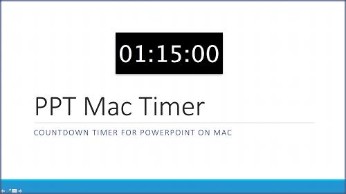 PPT Mac Timer