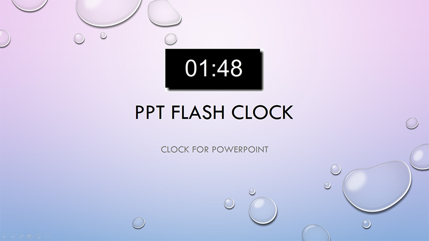 ppt flash clock ltc clock