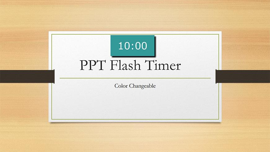ppt flash timer c ltc clock