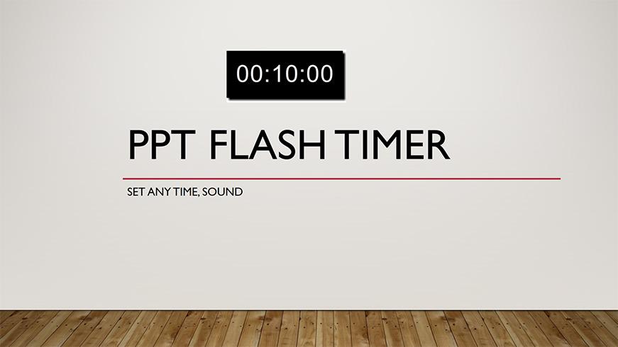 ppt flash timer ts